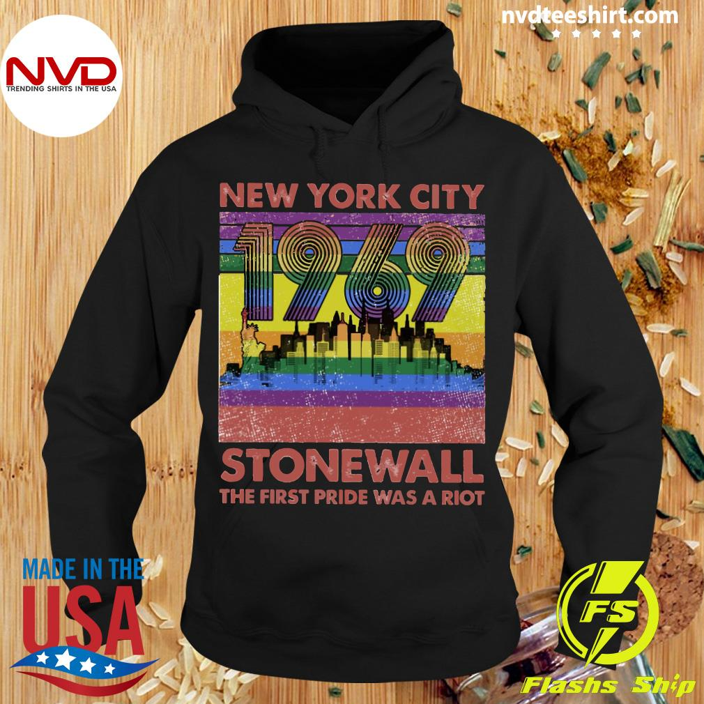 LGBT New York City 1969 Stonewall The First Pride Was A Riot VintageShirt